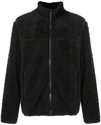 Stussy furry zip jacket