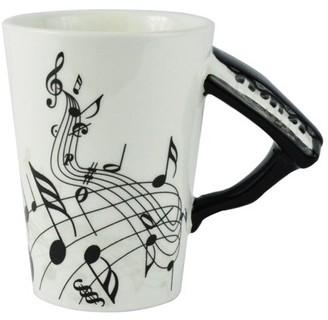 Fairly Odd Novelties Black Piano Coffee Mug