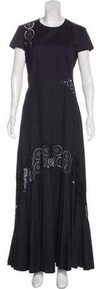 Stella McCartney Short Sleeve Evening Dress w/ Tags