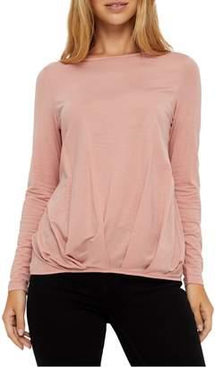 Vero Moda Ava Long-Sleeve Pleated Top