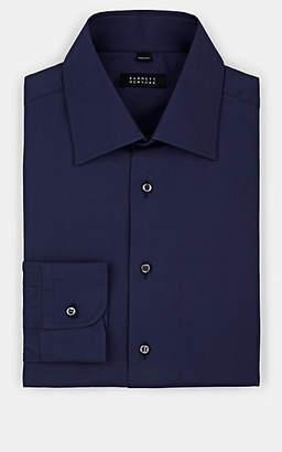 Barneys New York Men's Cotton Poplin Dress Shirt - Navy