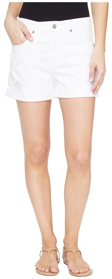 AG JeansAG Adriano Goldschmied Hailey Boyfriend Shorts in White Terrain