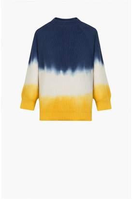 Sonia Rykiel Dip-Dye Short-Sleeved Jumper