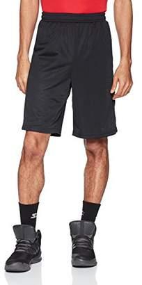 """Starter Men's 10"""" Mesh Basketball Short with Stripe"""