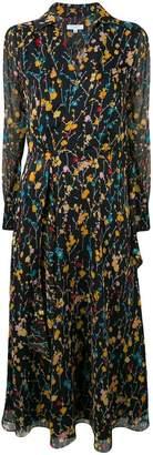 Equipment floral print midi dress