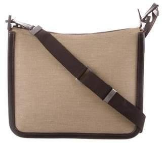 6dc0e49a9dc3 Mens Canvas And Leather Messenger Bag - ShopStyle