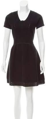 Chanel Open Knit A-Line Dress