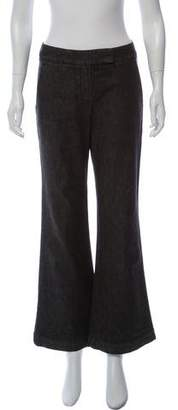 Theory Theyskens' Mid-Rise Wide-Leg Jeans