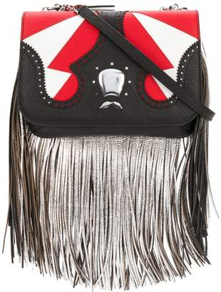 Icon Eyewear The Volon fringe clutch bag