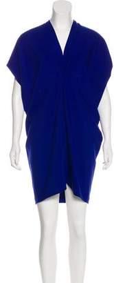 Zero Maria Cornejo Cap Sleeve Mini Dress