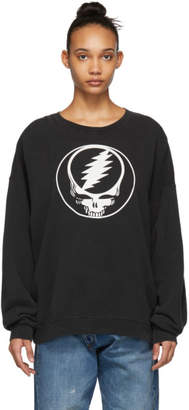 R 13 Black Steal Your Face Sweatshirt