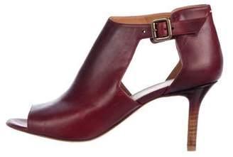 Maison Margiela Leather Cutout Booties