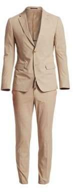 Ermenegildo Zegna Men's Cotton Suit Jacket - Light Beige - Size 48 (38) R