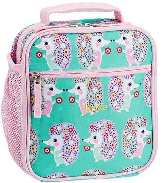 Pottery Barn Kids Mackenzie Pink Aqua Hedgehog Backpacks