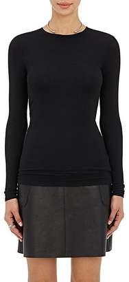 ATM Anthony Thomas Melillo Women's Rib-Knit Long-Sleeve T-Shirt