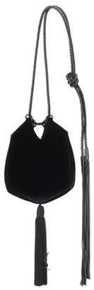 Saint Laurent Small Evening velvet bucket bag