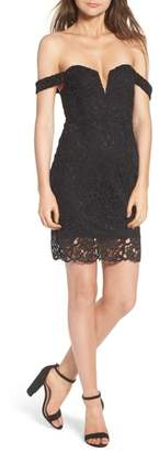 ASTR the Label Lace Body-Con Dress