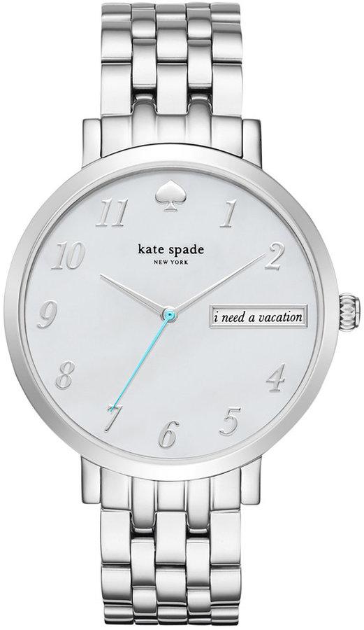 Kate Spadekate spade new york Women's Monterey Stainless Steel Bracelet Watch 38mm KSW1108