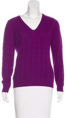 Etro Cashmere Long Sleeve Sweater