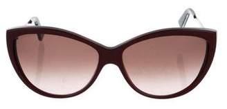 Alexander McQueen Oversize Cateye Sunglasses