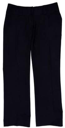 Ulla Johnson Cropped Low-Rise Wide-Leg Pants