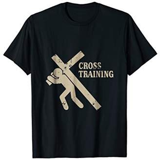 Funny Cross Training Religious Exercise T-Shirt