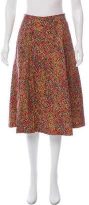Philosophy di Lorenzo Serafini Floral A-Line Skirt