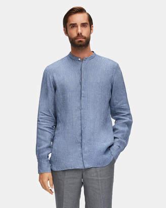 Aquila Altair Christian Stripe Linen Shirt