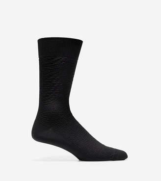 Cole Haan Woven Texture Crew Socks