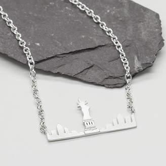 LHG Designs London Paris New York Skyline Necklace