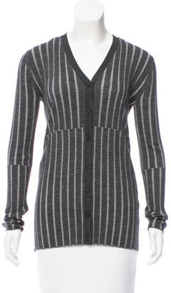 Vera Wang Pleated Wool Cardigan $85 thestylecure.com