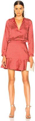 Alexis Coretti Dress in Rouge Rolo | FWRD