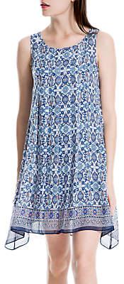 Max Studio Floral Dress, Blue