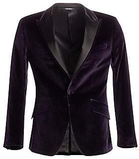 Dolce & Gabbana Men's Regular-Fit Velvet Dinner Jacket