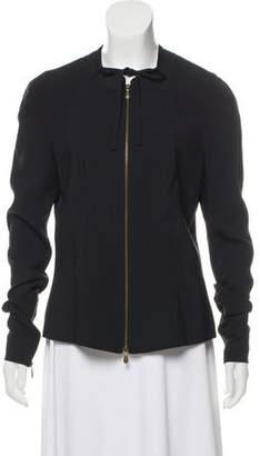 Givenchy Long Sleeve Zip-Up Jacket