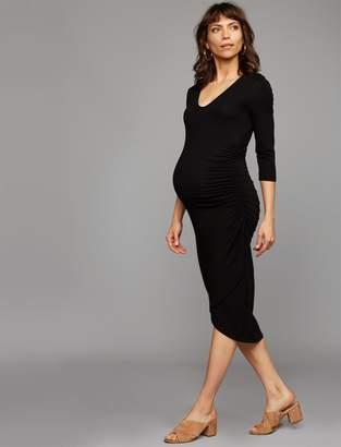 Isabella Oliver Vera Ruched Maternity Dress