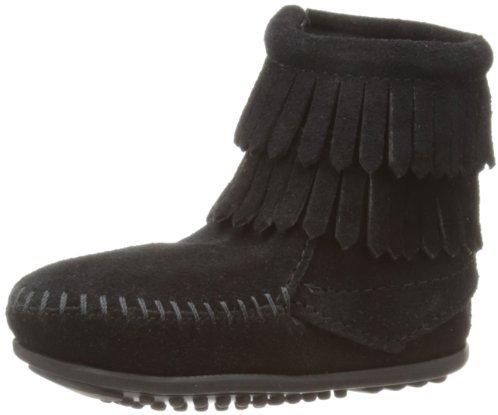 Minnetonka Double Fringe Boot (Toddler/Little Kid/Big Kid)