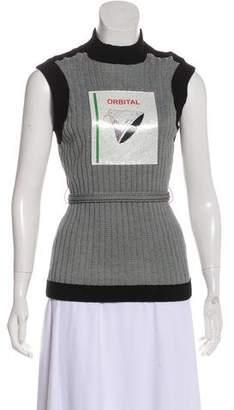 J.W.Anderson Embellished Rib Knit Vest