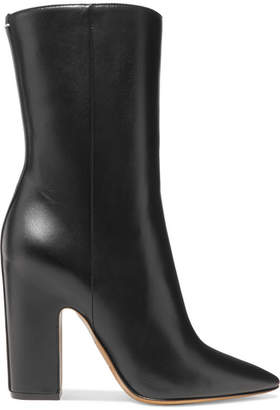 Maison Margiela Leather Boots - Black