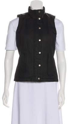 Burberry Lightweight Zip-Up Vest