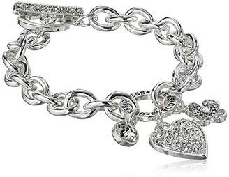 GUESS Women's Toggle Line Bracelet with Logo