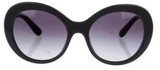 Dolce & Gabbana Oversize Gradient Sunglasses