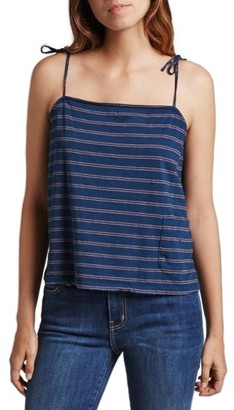 Women's Current/elliott The Knit Tie Camisole $98 thestylecure.com