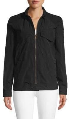 Tomas Maier Raglan-Sleeve Zip Jacket