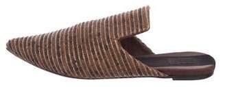 Sanayi 313 Woven Flat Mules