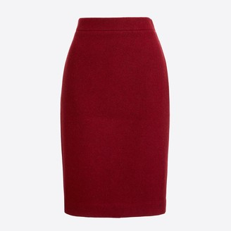 J.Crew Pencil skirt in double-serge wool