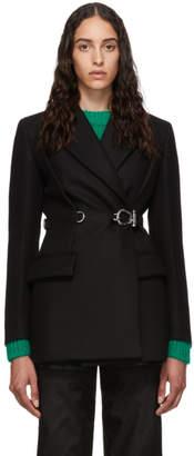 Prada Black Double Breasted Blazer