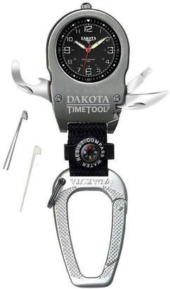 Dakota Men's Time Tool Carabiner Watch, Black 79729