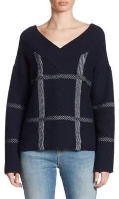 Armani Collezioni Knit V-neck Sweater