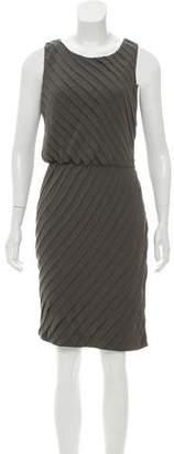 Halston Layered Sleeveless Dress